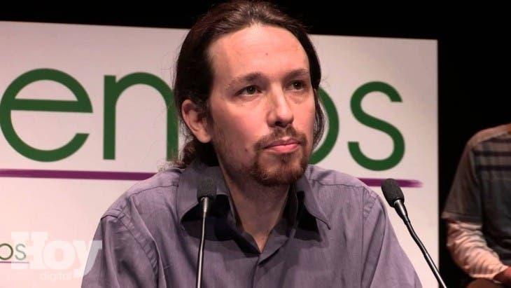 El líder del partido de izquierda radical Podemos, Pablo Iglesias,