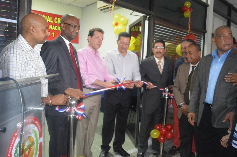 PRSC inaugura oficina política Circunscripción Uno de la capital