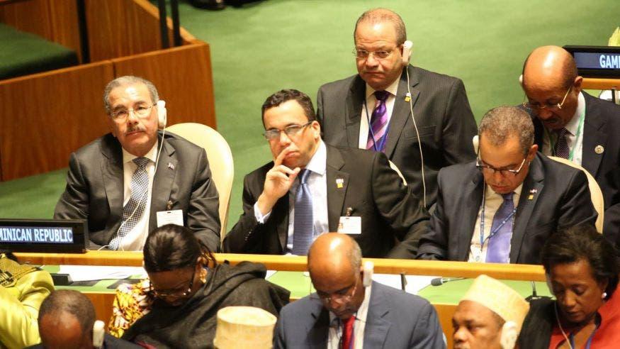 Presidente Medina dice RD orientará mayores esfuerzos en los objetivos de desarrollo sostenible