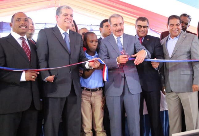 Danilo Medina en Palenque