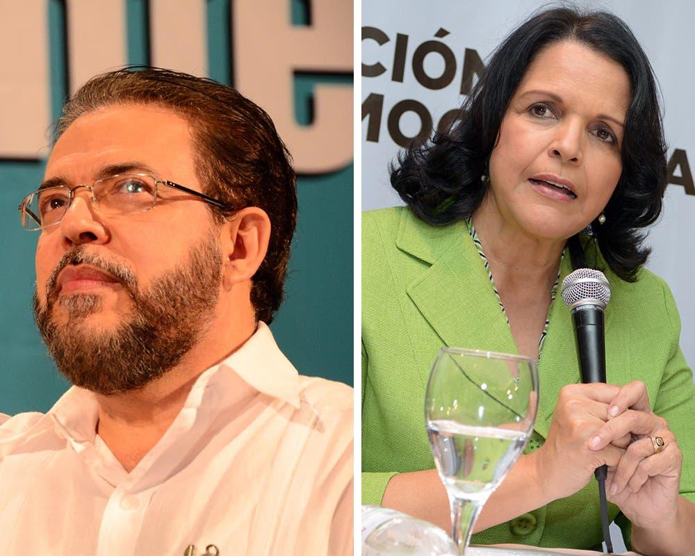 Mayoría lectores HOY prefiere a Guillermo Moreno que a Minou Tavárez; votación está reñida