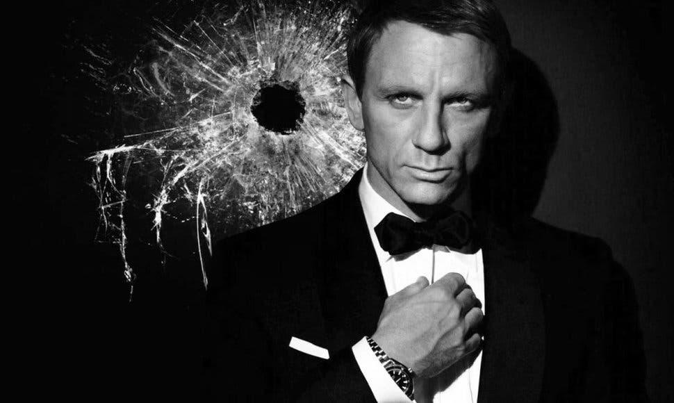 El actor inglés Daniel Craig como James Bond. Fuente externa.