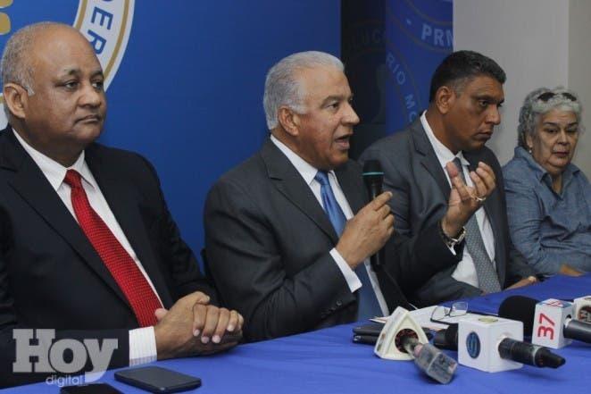 El Partido Revolucionario Moderno (PRM) demandó hoy del presidente Danilo Medina el esclarecimiento total de los vergonzosos hechos y los escándalos de tráfico de influencia, extorsión y corrupción que se han develado en la Oficina de Ingenieros Supervisores de Obras del Estado, a partir del presunto suicidio del arquitecto  David Rodríguez García.