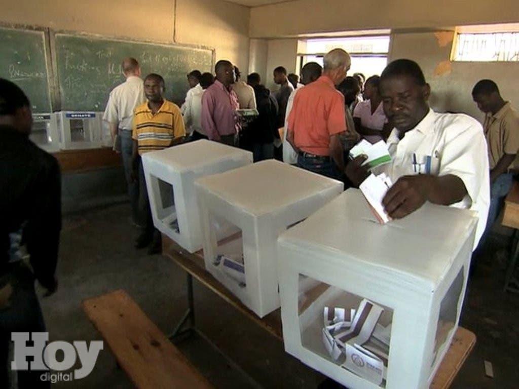 haitianos votando