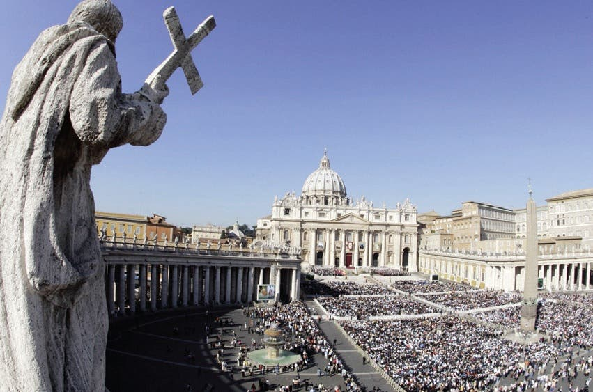 Basílica de San Pedro en el Vaticano. AP.