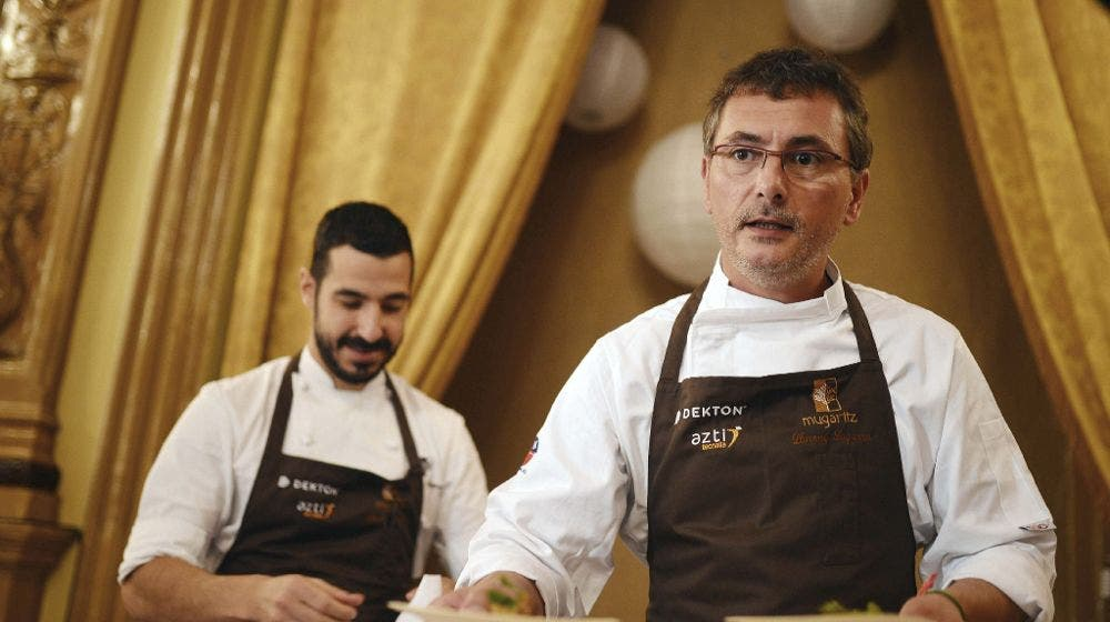 Aduriz cocina los nexos entre Latinoamérica y País Vasco en nuevo restaurante