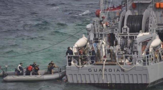 La Armada colombiana halla 49 migrantes ilegales en aguas del Caribe