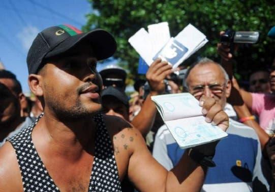 Cubanos protestan