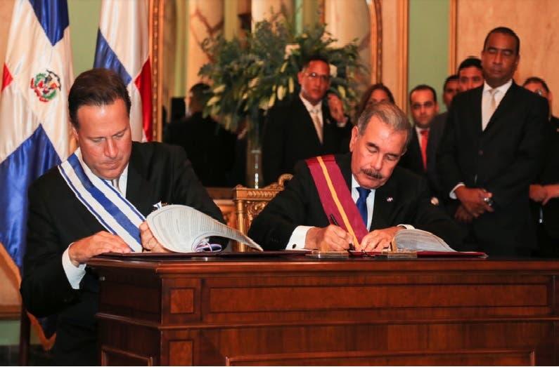Danilo Medina y Juan C Valera