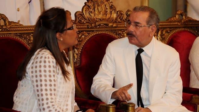 Danilo recibe a embajadores
