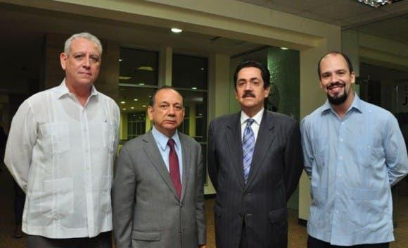 Eliades Acosta Matos, Diómedes Núñez,Tonny Raful y Matías Bosch