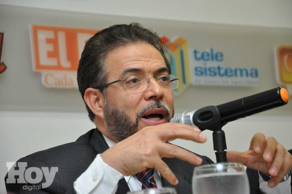 Guillermo Moreno en el Almuerzo Corripio