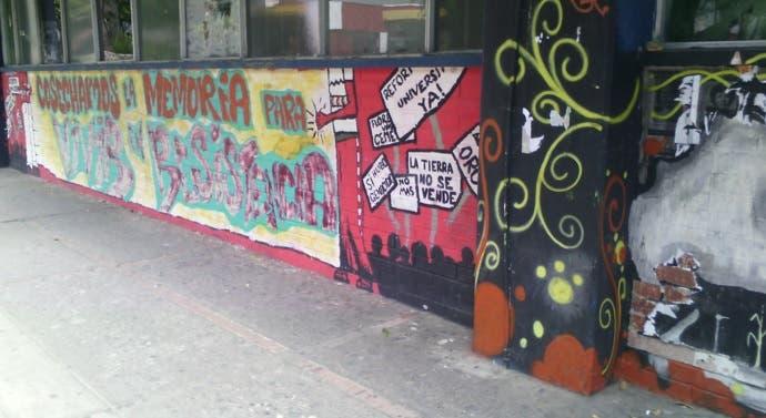 Pinturas en la pared