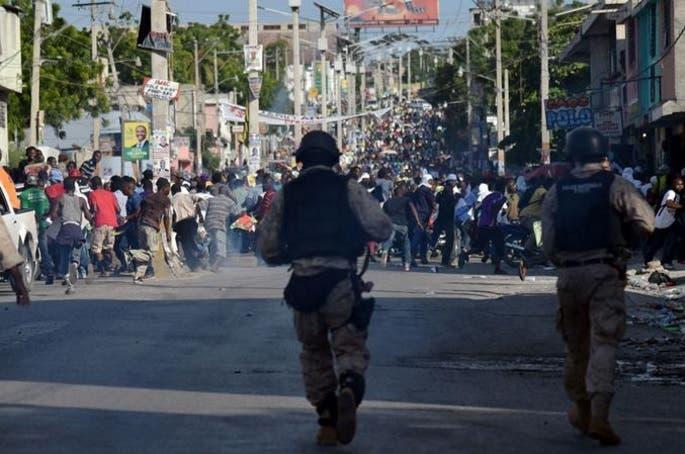 Protesta en Haiti RT