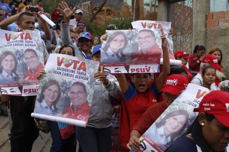 Venezolanos se manifiestan