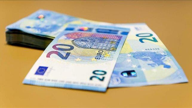 El nuevo billete de 20 euros ya está en los cajeros y los comercios