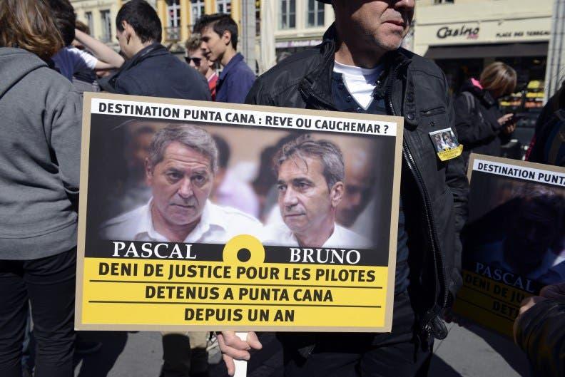 Bruno Odos y Pascal Fauret, pilotos franceses fugados de República Dominicana