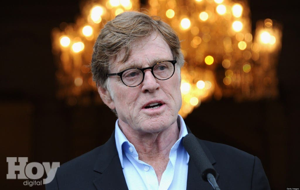 LONDON, ENGLAND - APRIL 24:  Actor Robert Redford speaks as he attends the American Ambassador's Reception during the Sundance London Film and Music Festival 2013 on April 24, 2013 in London, England.  (Photo by David M. Benett/Getty Images)