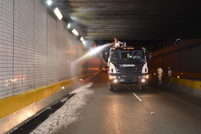 Limpieza de túneles OP