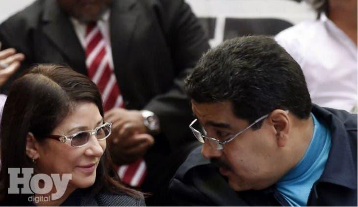 Maduro y su esposa Ygs