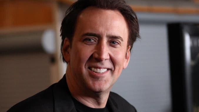 Nicolas Cage presentó hoy en Moscú su última película.