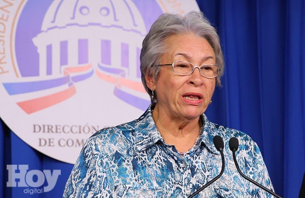 Altagracia Guzmán Marcelino, ministra de Salud.