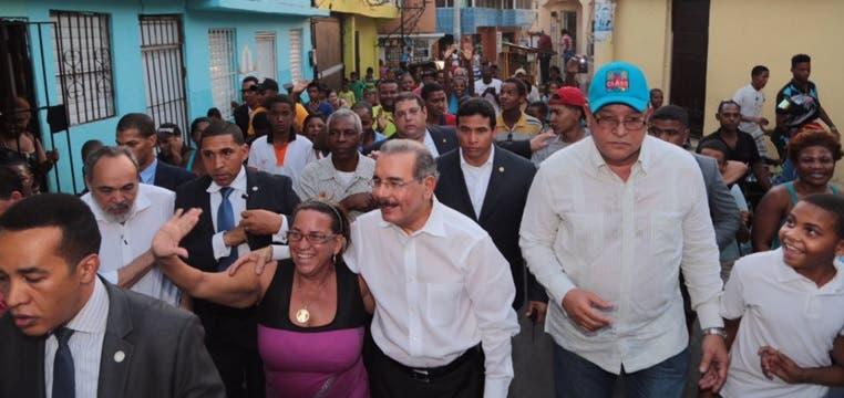 Danilo Medina en Herrera U7s