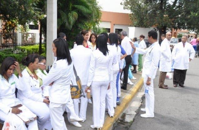 Huelga de medicos dominicanos