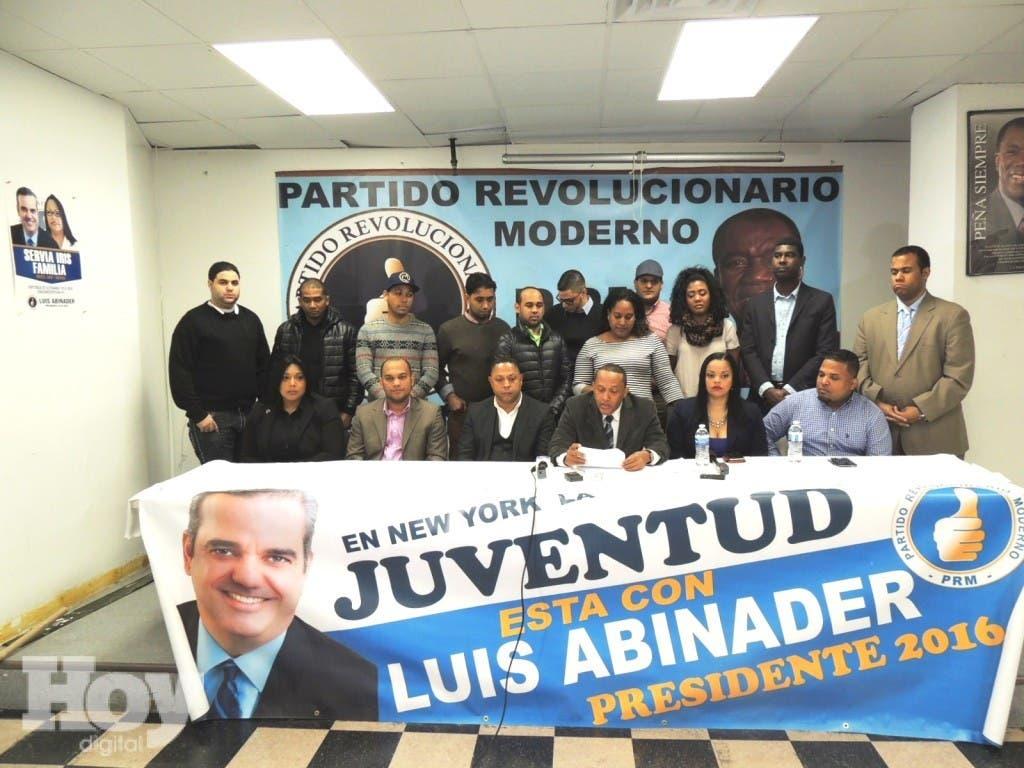 JUVENTUD REVOLUCIONARIA MODERNA EN RUEDA DE PRENSA
