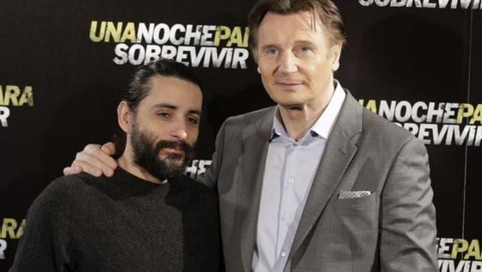 Jaume Collet-Serra y Liam Neeson