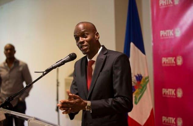 Presidente de Haití, Jovenel Moise.