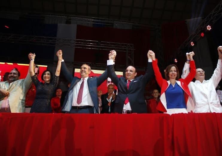 Luis Abinader proclamado por PRSC