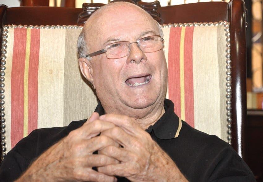 Ex presidente Hipólito Mejía.