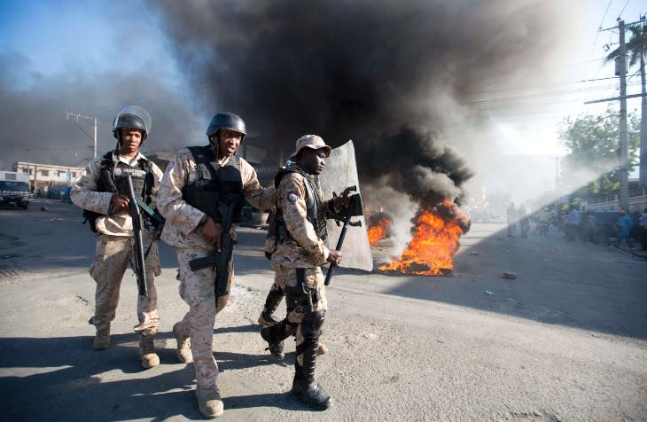 Protestas en Haiti T5