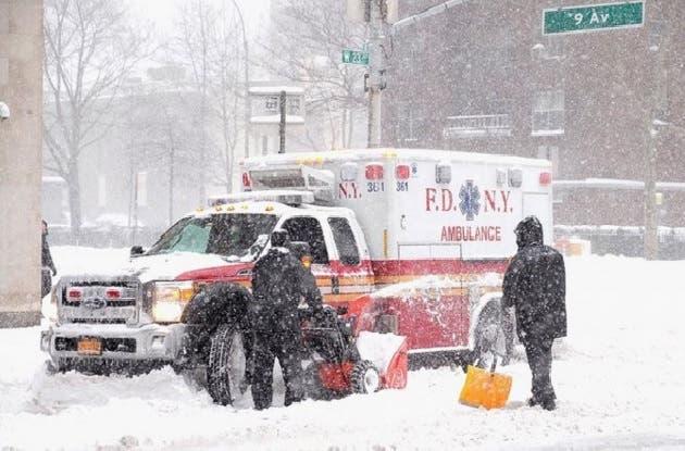Tormenta nieve EEUUy