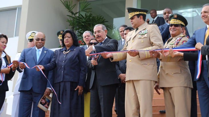 Danilo Medina encabezó el acto por el Bicentenario de Matías Ramón Mella.