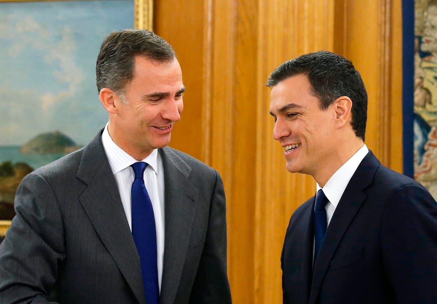 Rey de España no propondrá más candidatos y da tiempo a partidos para negociar