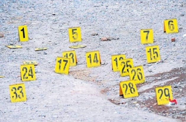 Tasa de homicidios en Venezuela es de 58,1 por cada 100.000 habitantes