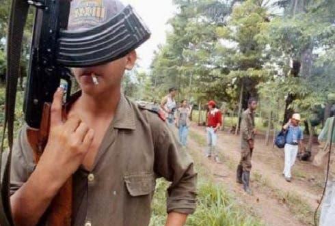 Menores en las FARC