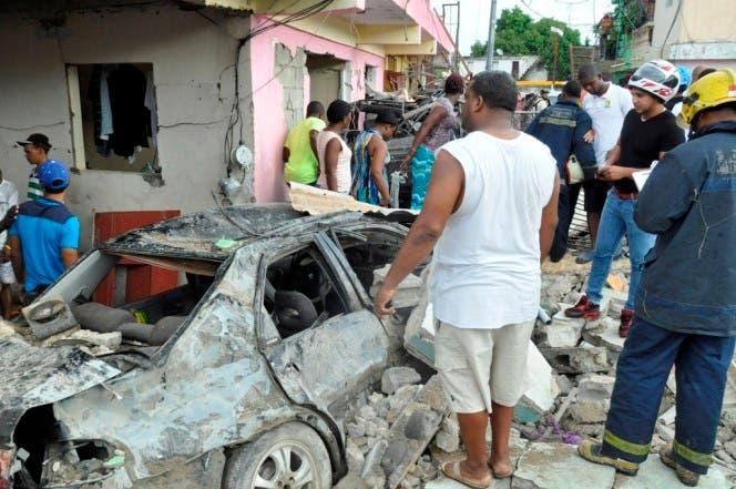 Víctimas de explosión de planta de gas en Los Ríos. Foto: Francisco Reyes