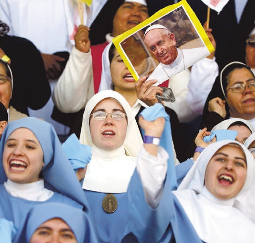 Papa llama no resignarse ante amenazas narcotráfico