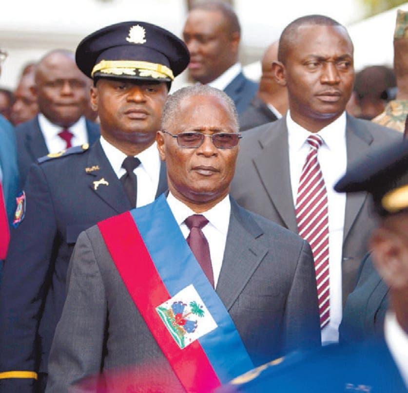 Jocelerme Privert asumió las riendas de Haití.  AP