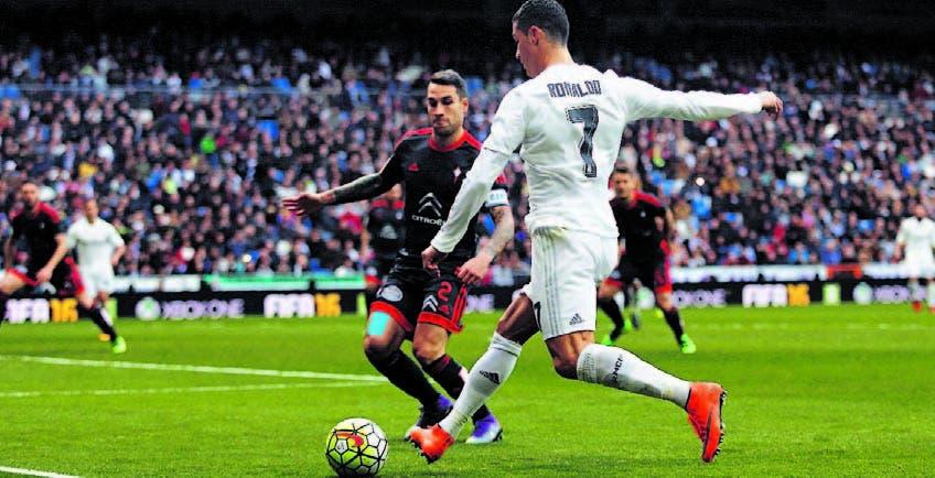 Ronaldo anota cuatro goles