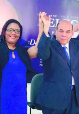 Pelegrín elige Daisy Sepúlveda como vice FNP