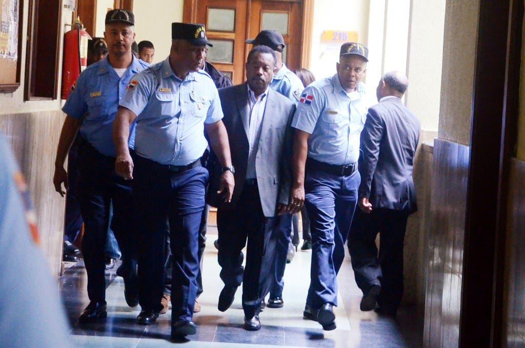 Blas Peralta ingresa en cárcel de Higüey y no en La Romana como dispuso juez