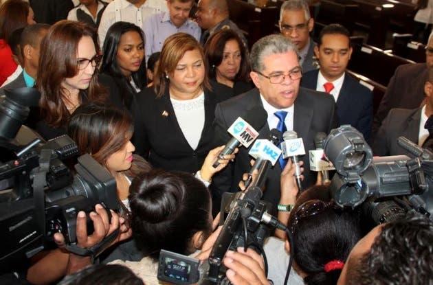 Ministro de Interior y Policía, Carlos Amarante Baret.