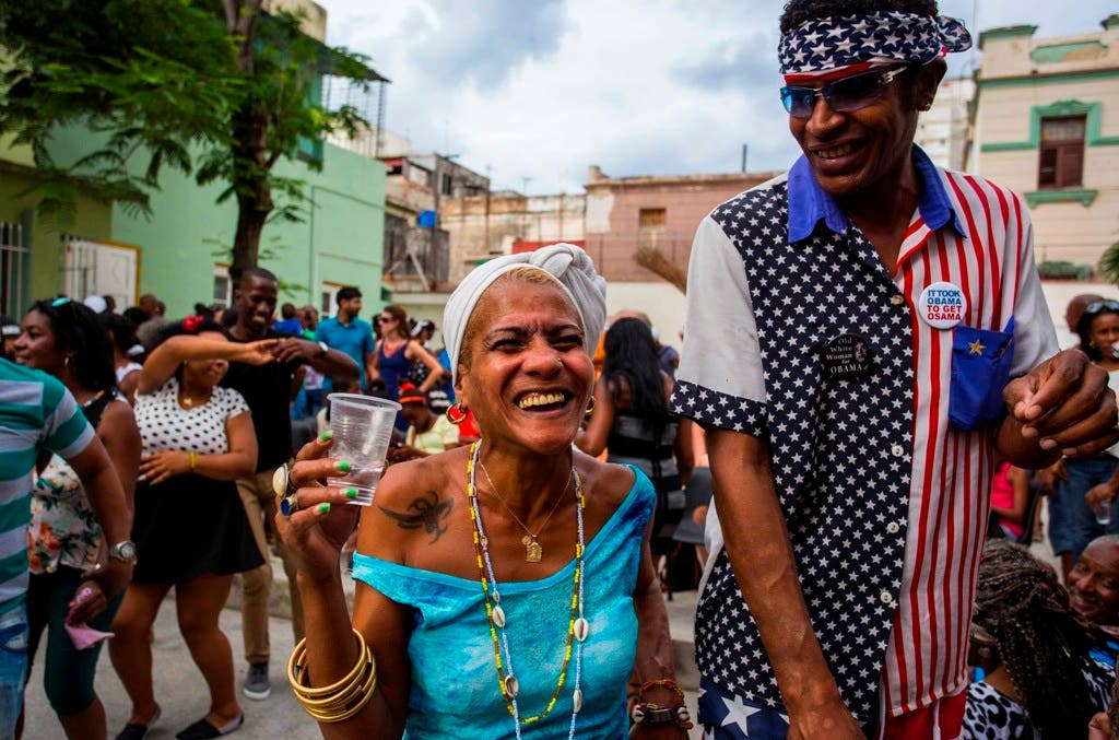CUBA-OBAMA-RAZA NEGRA
