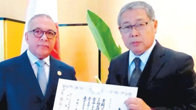 Embajador de Japón reconoce a Mejía Jabid de Karate