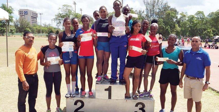 Equipo Región Sur conquista Festival Atletismo participaron DN y 31 provincias