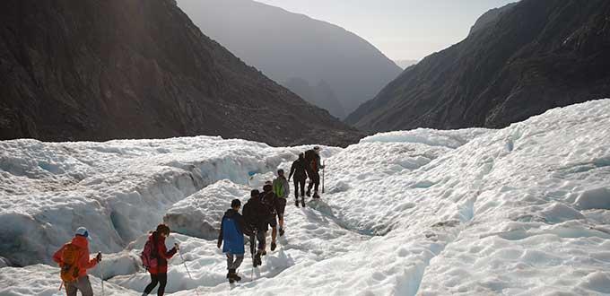Derretimiento de glaciares pone fin a paseos en Nueva Zelanda